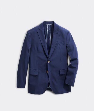 Vineyard Vines Men's On-The-Go Performance Blazer (Blue) (Size: 42) (Nylon Blend)