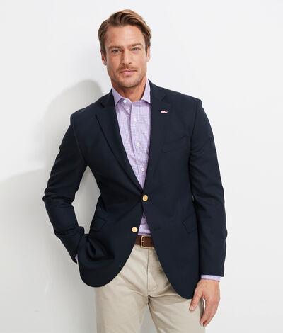 Vineyard Vines Men's Classic Navy Blazer (Blue) (Size: 42)