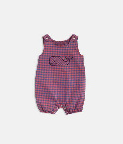 Vineyard Vines Baby Boy Performance Jon Jon (Red) (Size: 3-6 M)