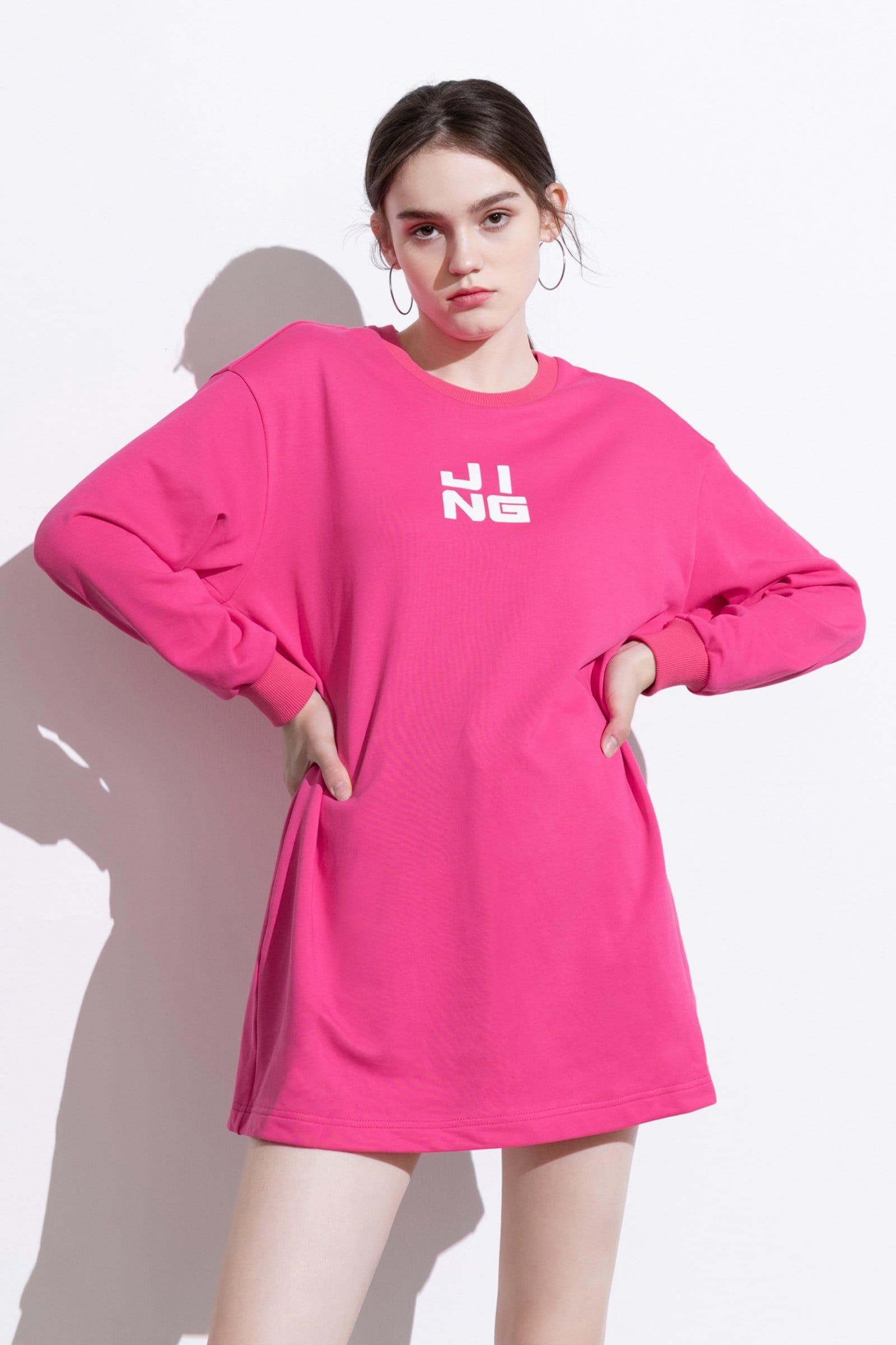 Flamingo Wordplay Flamingo Sweater Dress