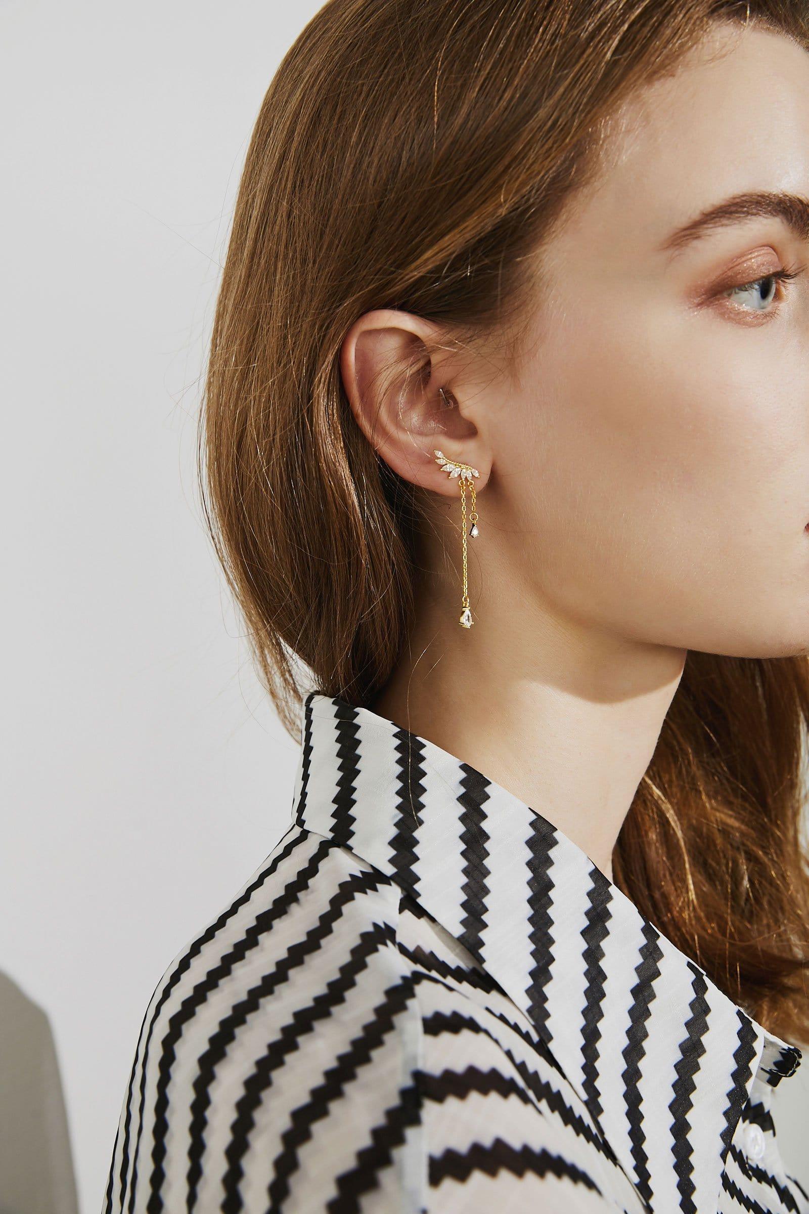 Angel Tear Earrings
