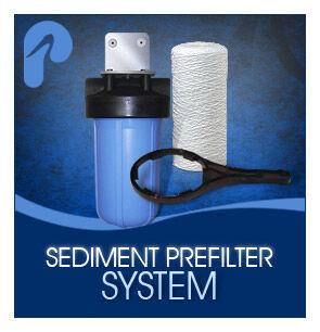 "Viqua 10"" 5 Micron Sediment Prefilter System"