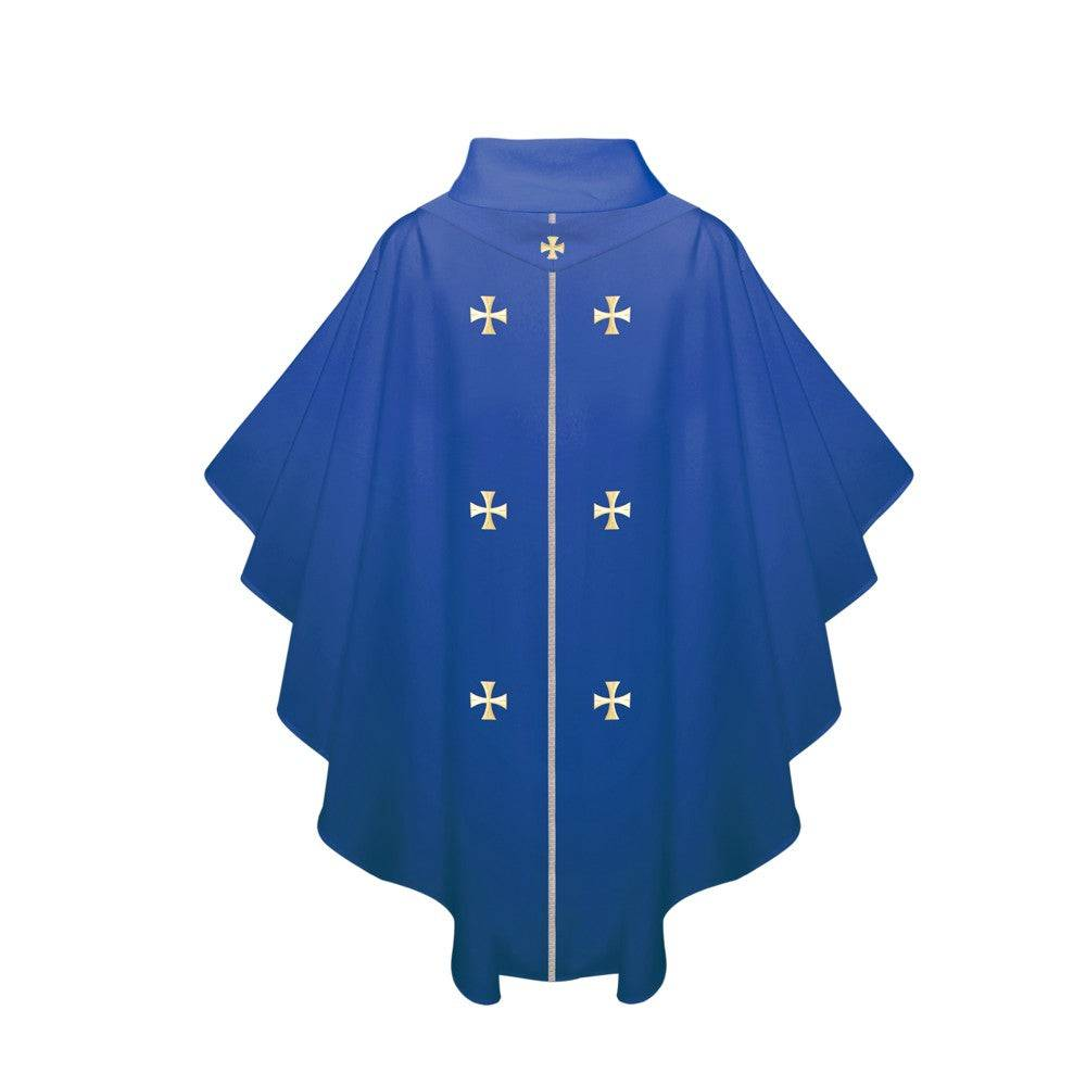 Royal Blue Chasuble