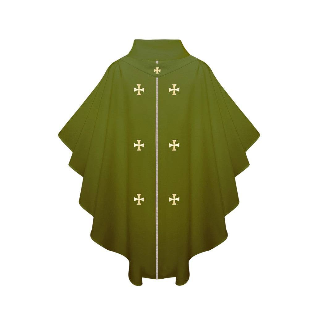 Olive Green Chasuble