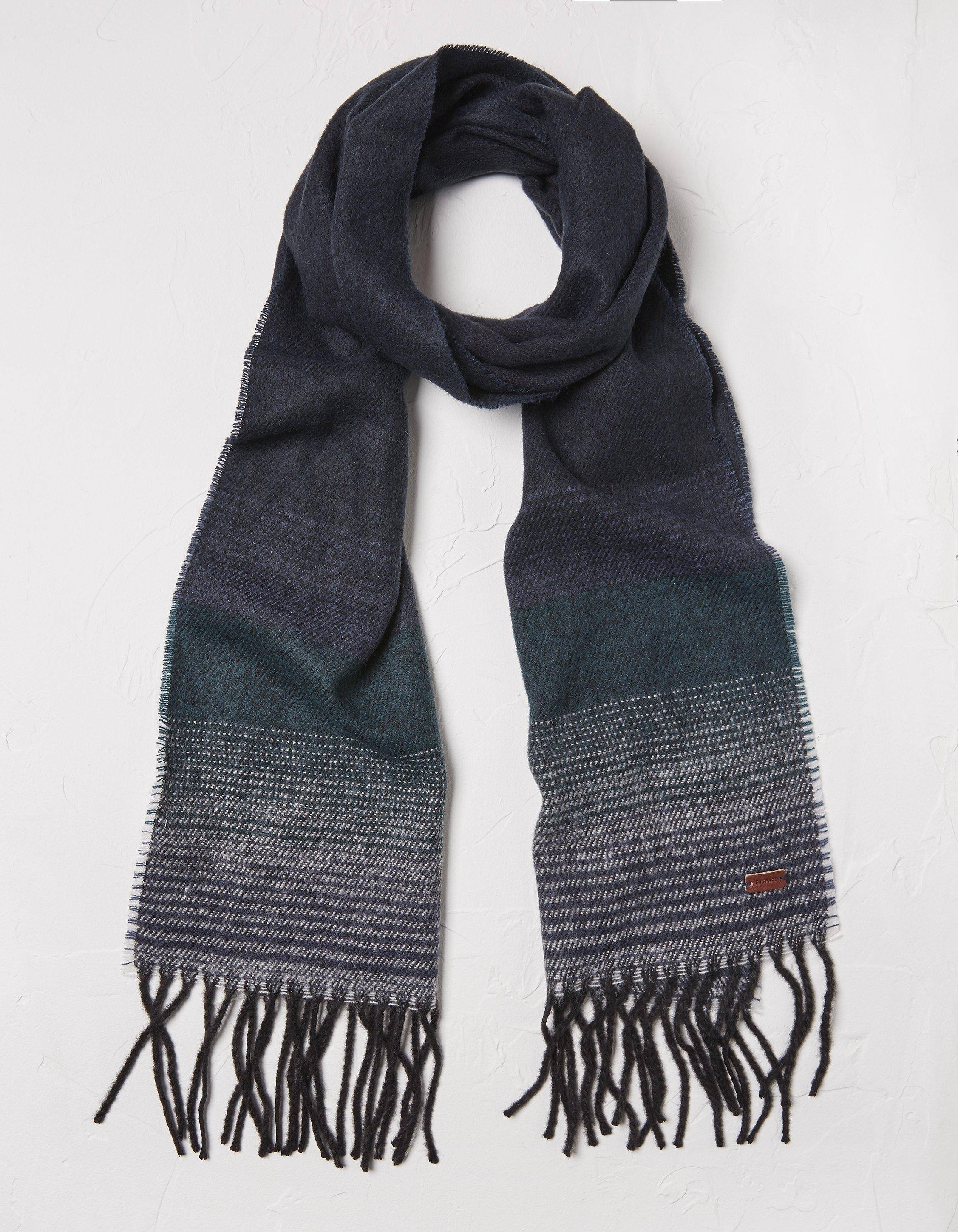 Fat Face Border Stripe Scarf  - Size: One Size