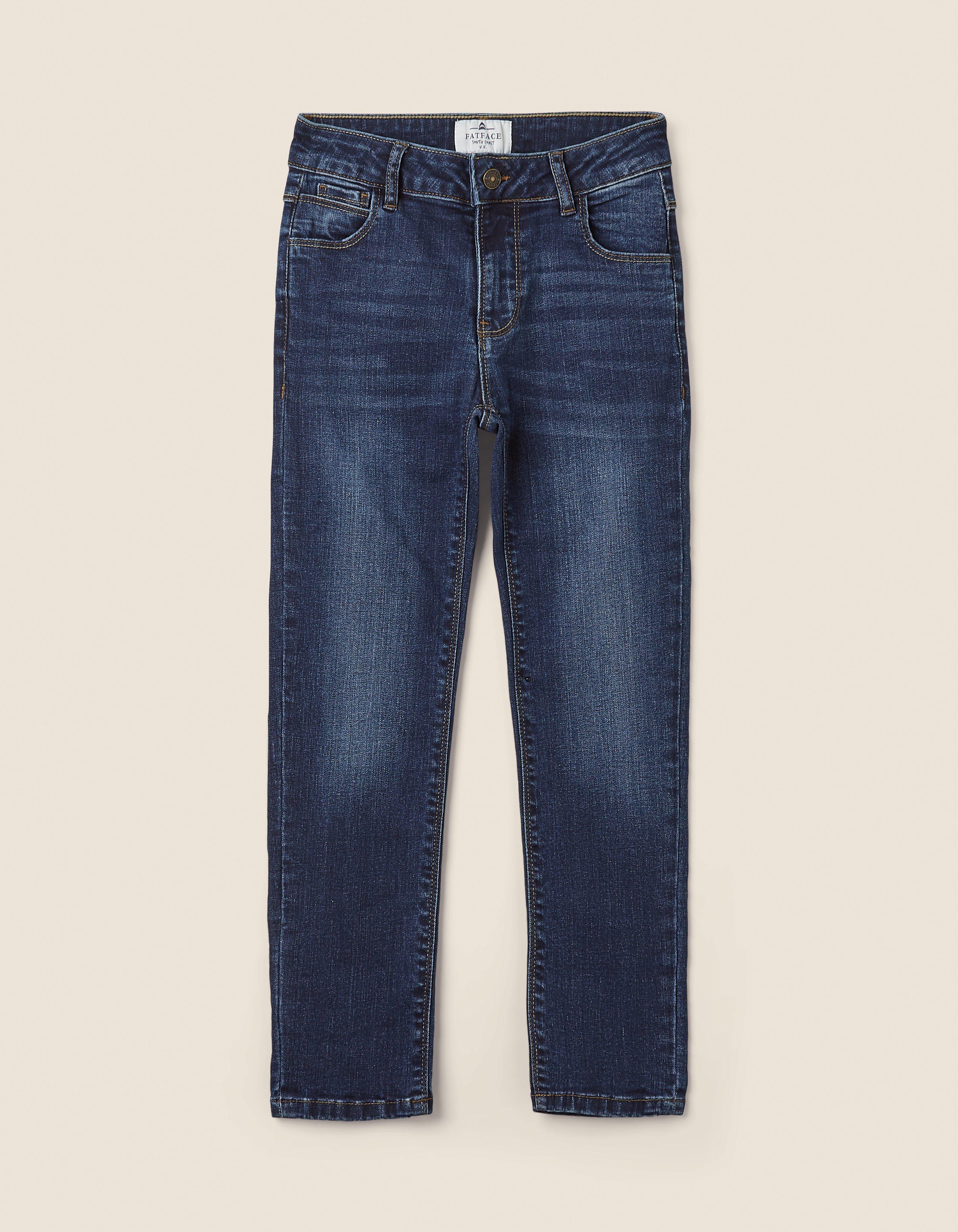 Fat Face Mid Blue Slim Jeans  - Size: 3