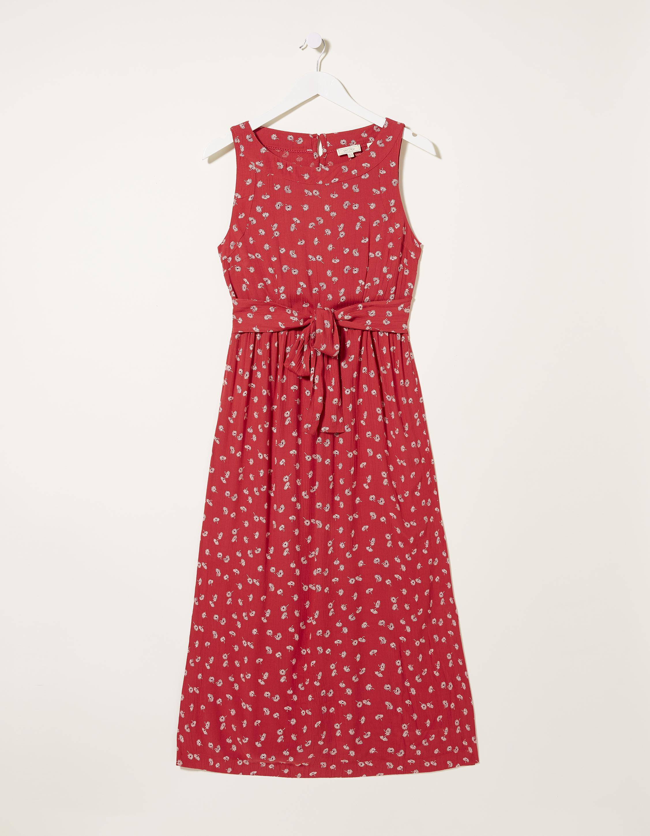 Fat Face Laurie Daisy Midi Dress  - Size: 2