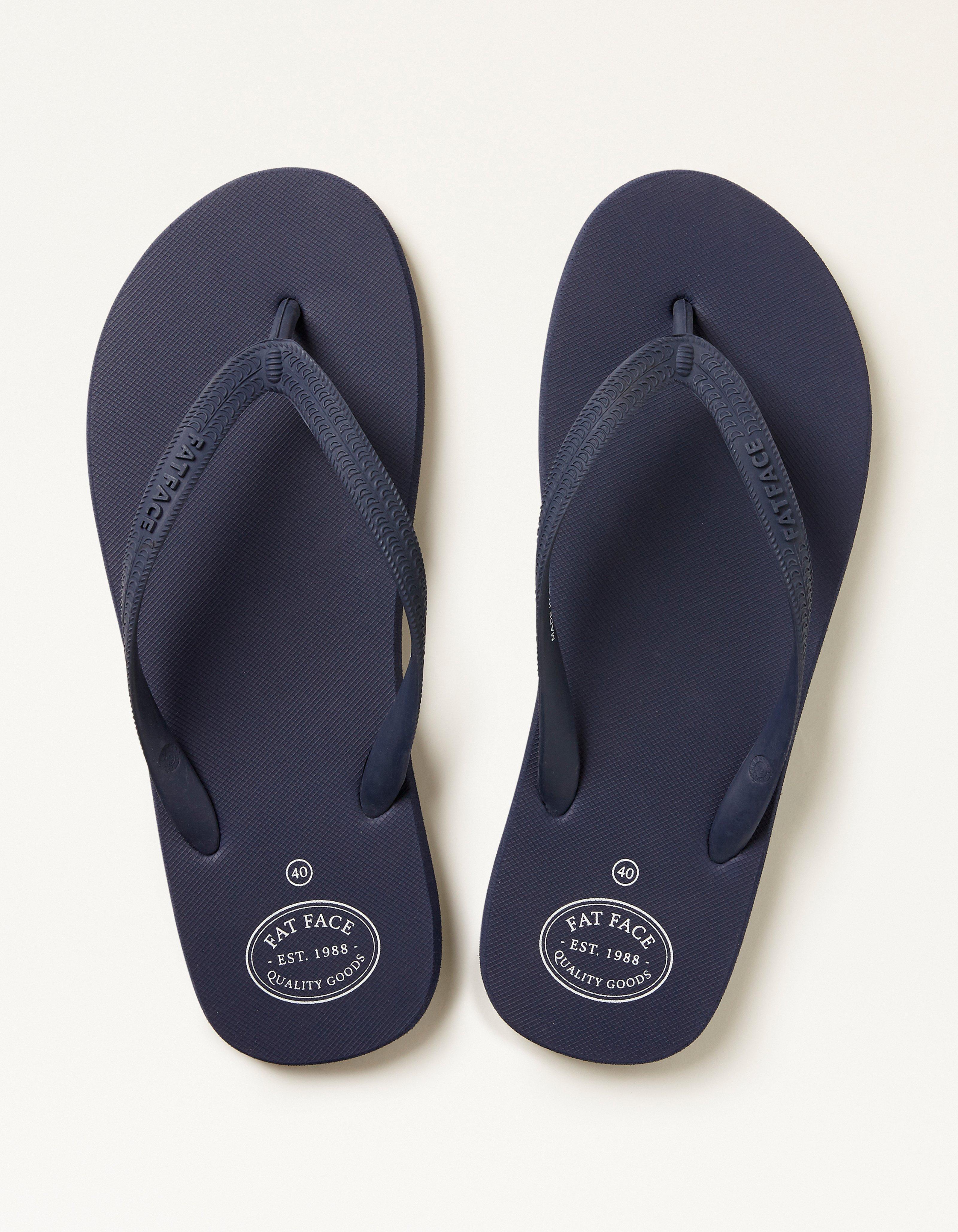 Fat Face Henley Flip Flops  - Size: 8