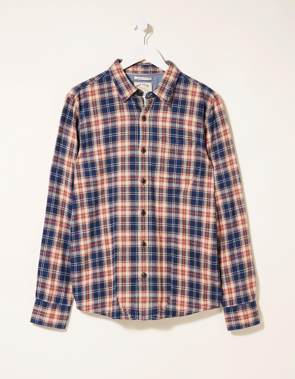 Fat Face Purton Check Shirt  - Size: Small