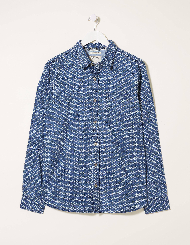 Fat Face Marlow Print Shirt  - Size: 3X-Large