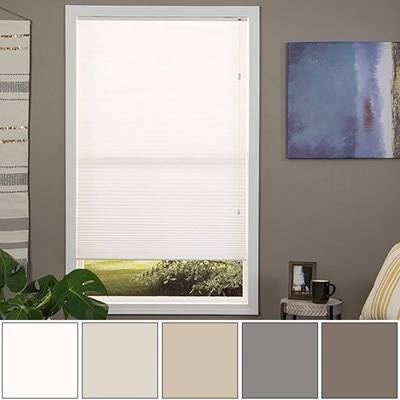 JustBlinds.com Cellular Shade - Custom Made - Cordless, Blackout Available