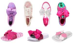 Jojo Siwa Girls Sneakers or Sandals w/BONUS Hair Bow