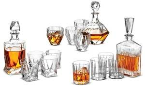 Whiskey Decanter, Glasses, or Decanter and Glass Sets with Gift Box