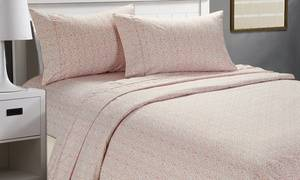 Cozy Homes Printed Sheet Set (3- or 4-Piece)