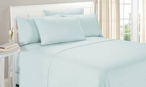 Luxury Home Double-Brushed Deep Pocket Sheet Set (4- or 6-Piece)