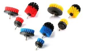 All-Purpose Power Scrubber Drill Cleaning Brush Set (3-Piece) (Drill Not Included)