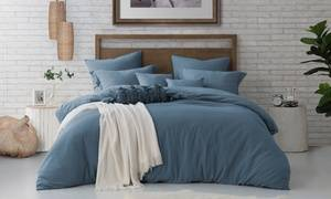 Luxury Home Pre-Washed Duvet Set (2- or 3-Piece)