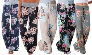Lilly Posh Floral or Stripe and Polka Dot Pants (3-Pack)