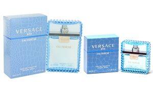 Versace Man Eau Fraiche Eau de Toilette for Men (1.7 Fl. Oz. or 3.4 Fl. Oz.)