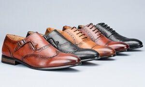 Vincent Cavallo Men's Classic Oxford Dress Shoes