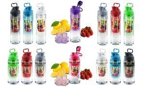 Clearance: Fruit Infuser 28oz & 32oz Tritan Water Bottles (1- or 2-Pack)