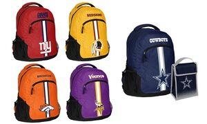 Forever Collectibles NFL Logo Backpack or Backpack & Lunch Bag Set