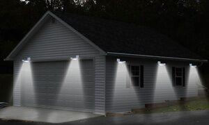 Solar Power LED Motion Sensor Light (1-, 2-, or 4-Pack)