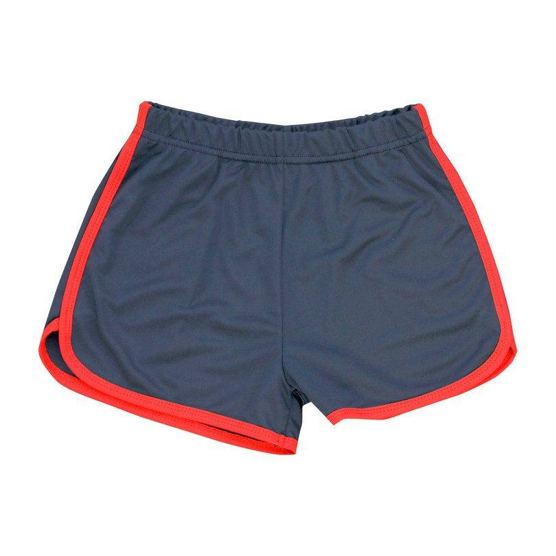Busy Bees Billie Jean Sport Short, Navy & Red  - Navy - Size: 7y