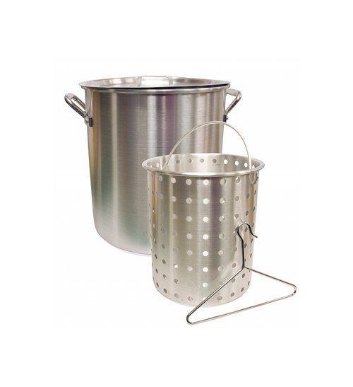Camp Chef Aluminum Pot + Basket // 42 Quart