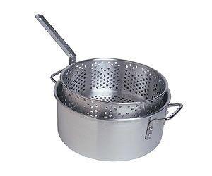 Camp Chef Aluminum Pot + Basket // 10.5 Quart