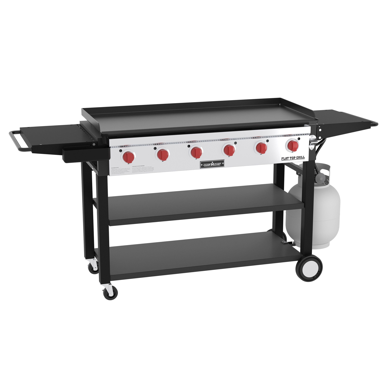 Camp Chef Flat Top Grill // 6 Burner