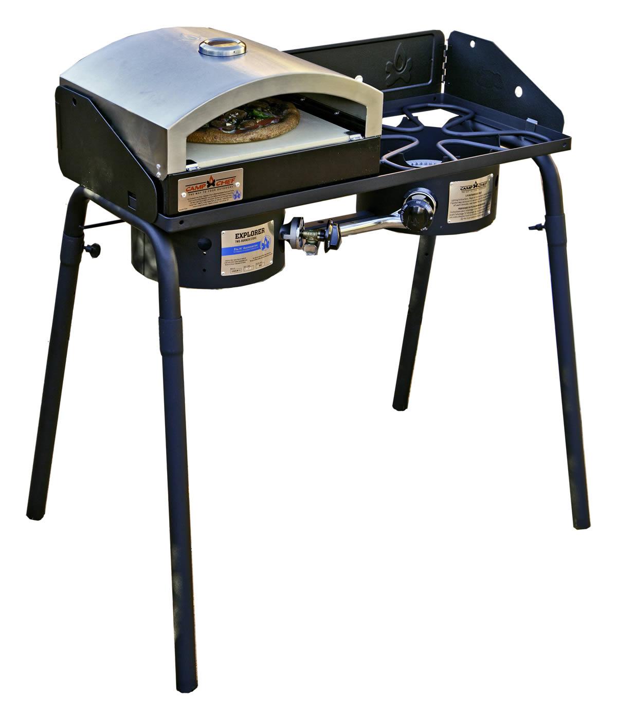 Camp Chef Explorer 2 Burner Stove + 1 Burner Oven