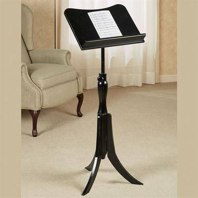 Touch of Class Parke Music Stand Black , Black