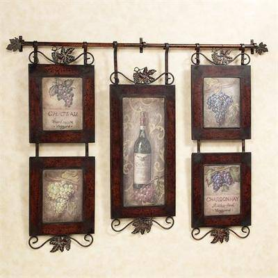 The Uttermost Co-Accessories Emilion Wine Wall Art