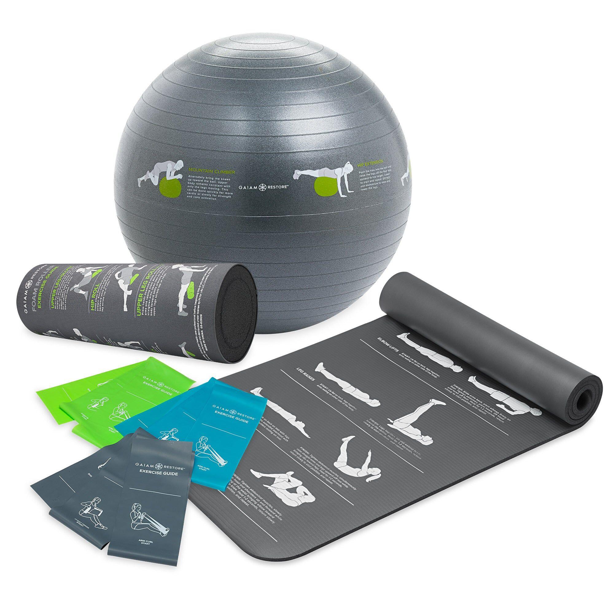 Gaiam Self-Guided Fitness Kit  - mult