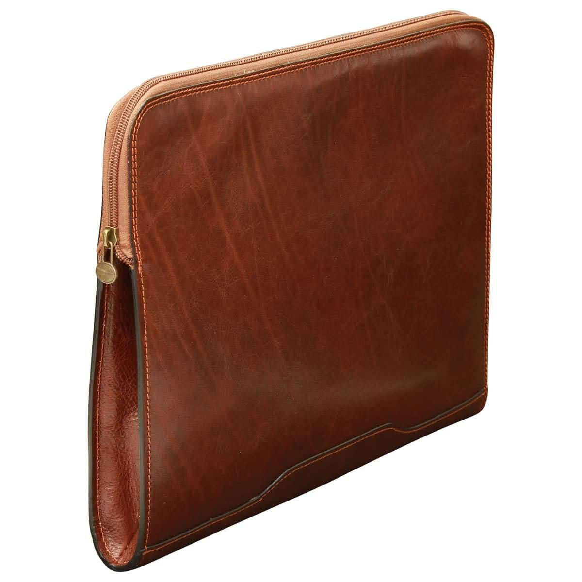 Leather Portfolio - Brown
