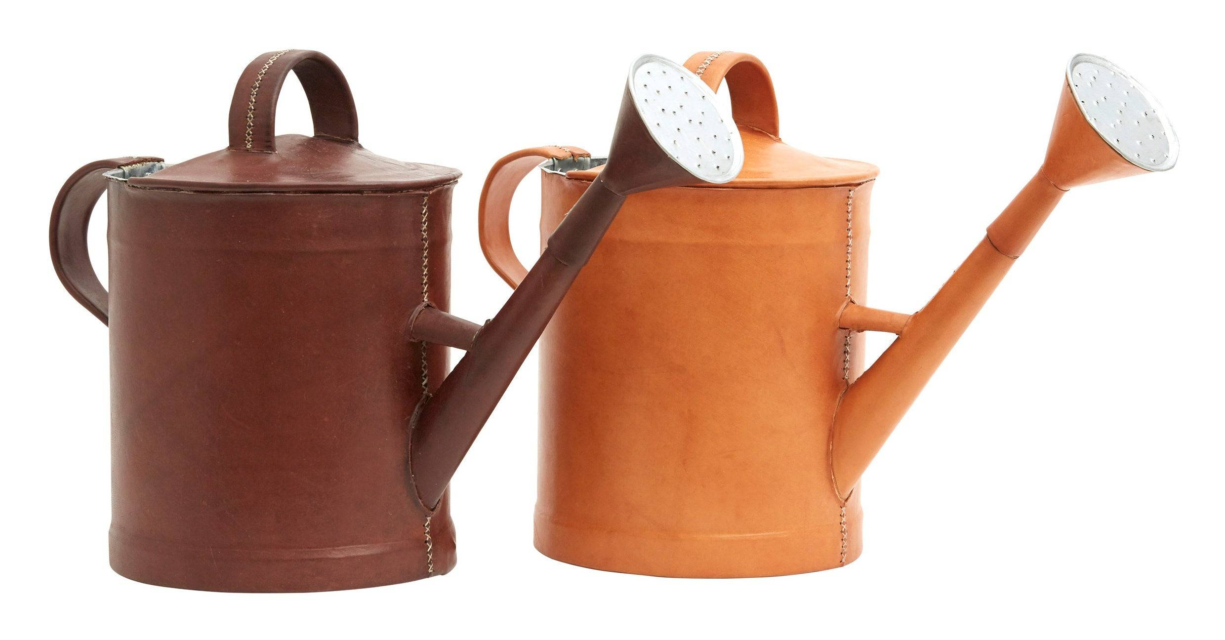 Leather Watering Cans