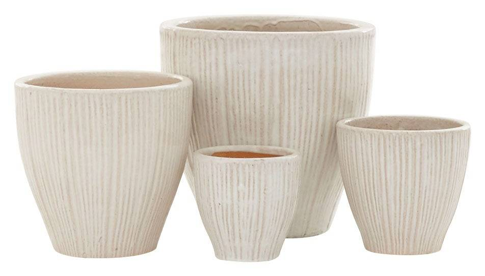 Lilly White Planters