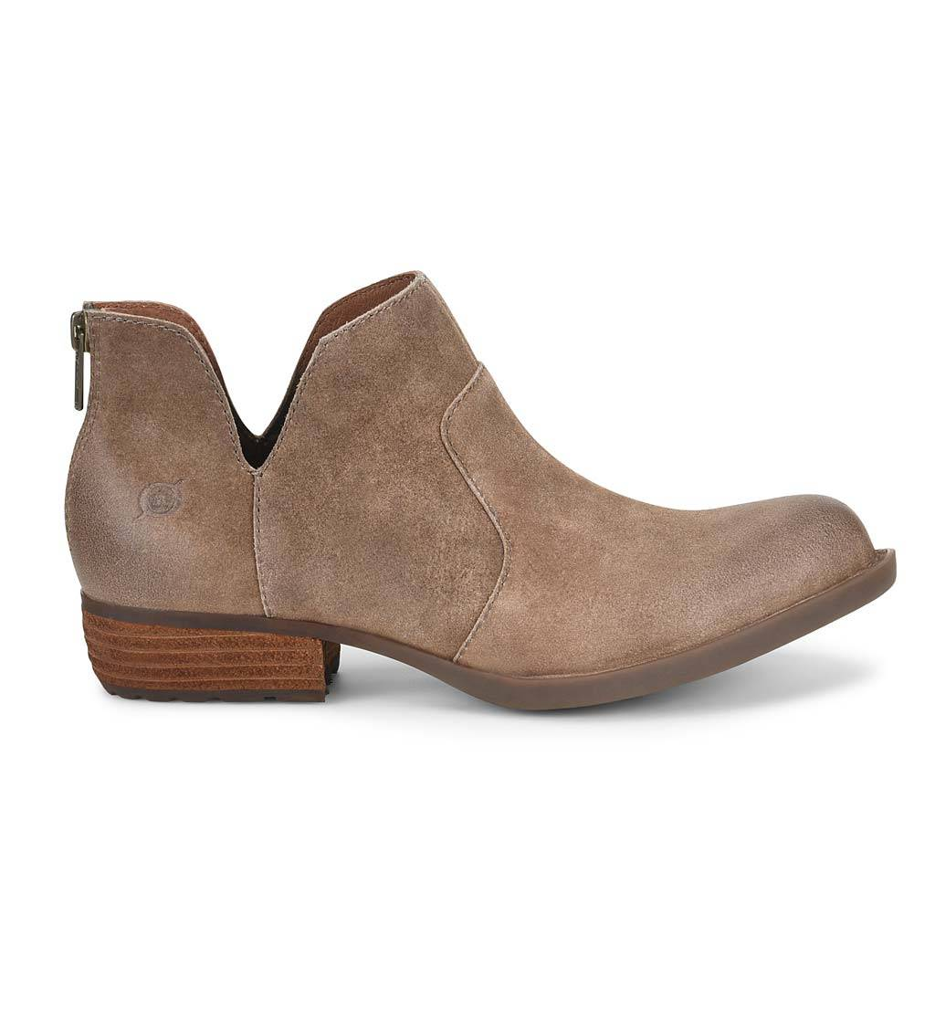 HH BROWN/BORN SHOES Born Kerri High/Low Ankle Boots