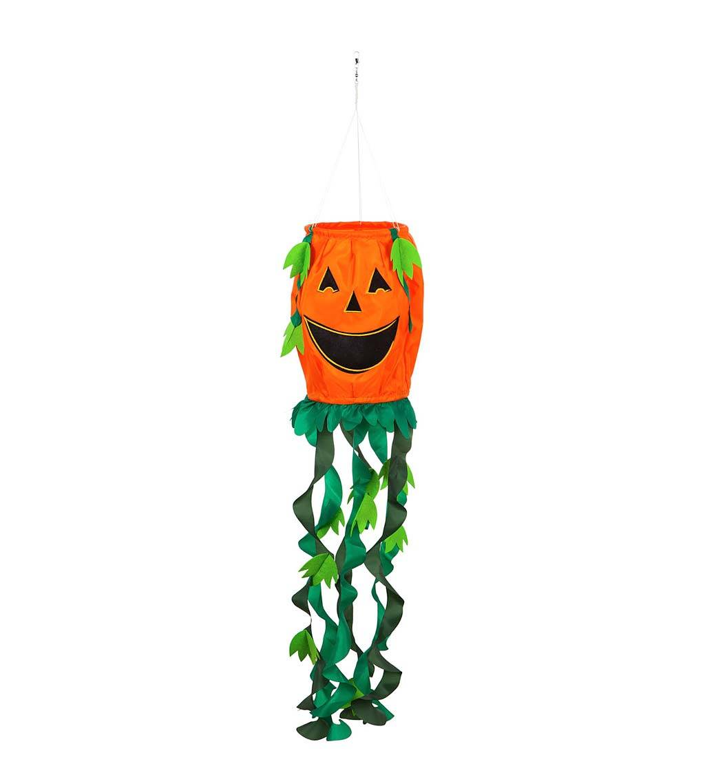 EVERGREEN ENTERPRISES INC. Halloween Jack-O-Lantern 3D Windsock