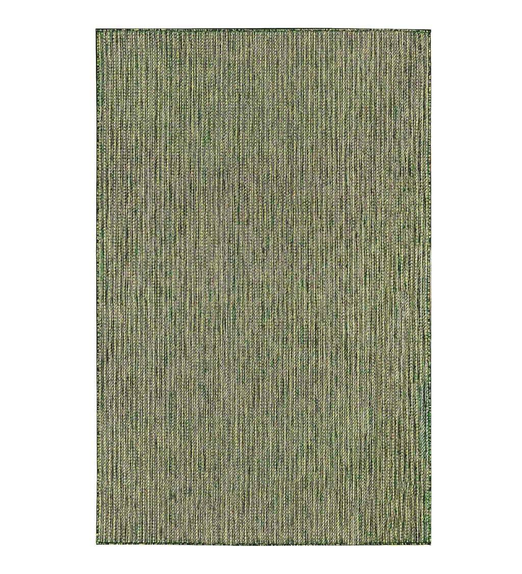 """TRANS-OCEAN IMPORT CO Indoor/Outdoor Textured Stripe Polypropylene Rug, 39"""" x 59"""""""