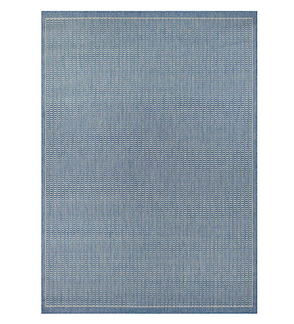 """COURISTAN Veranda Textured Indoor/Outdoor Polypropylene Rug, 7'6"""" x 10'9"""""""