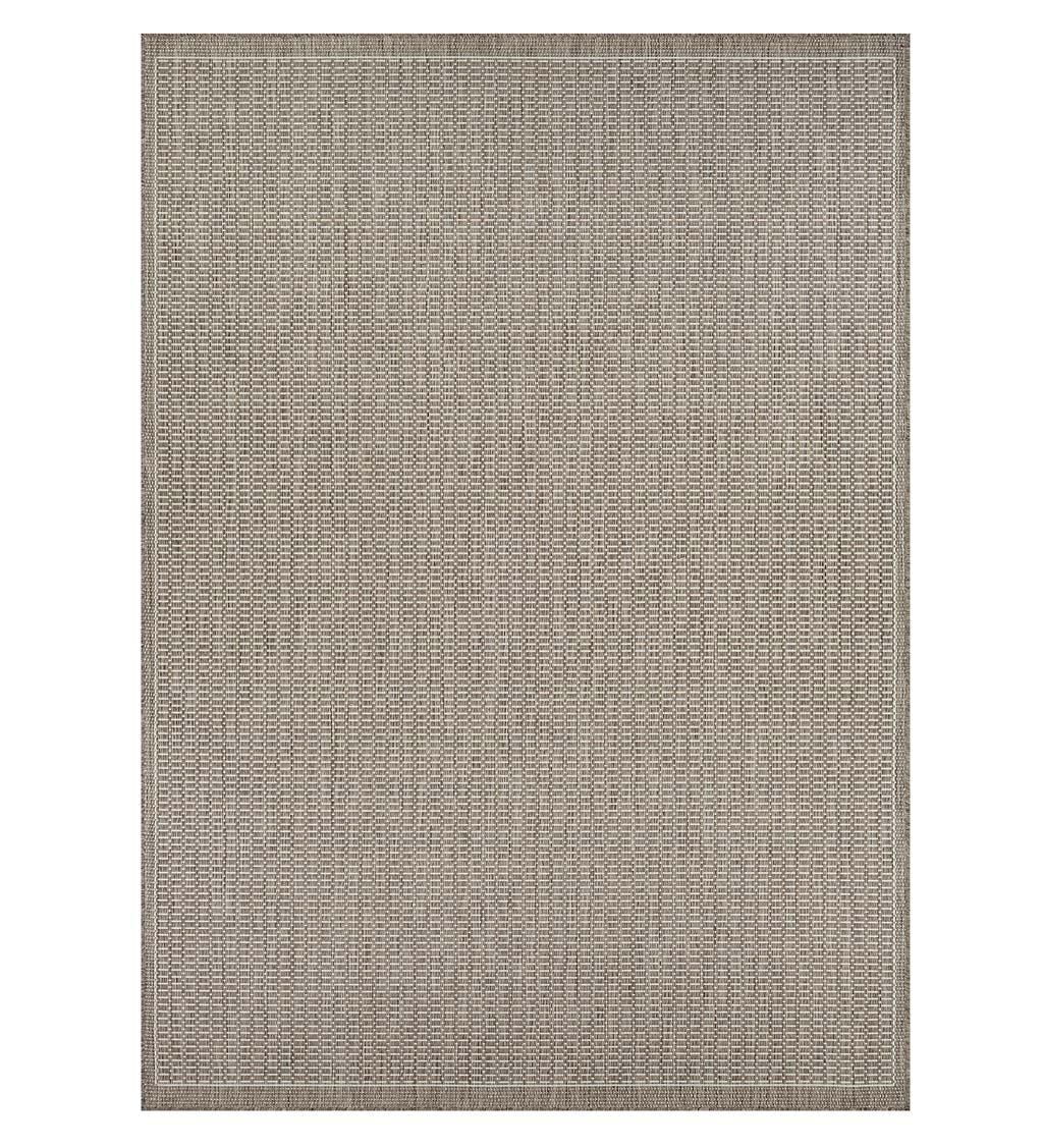 """COURISTAN Veranda Textured Indoor/Outdoor Polypropylene Rug, 2' x 3'7"""""""