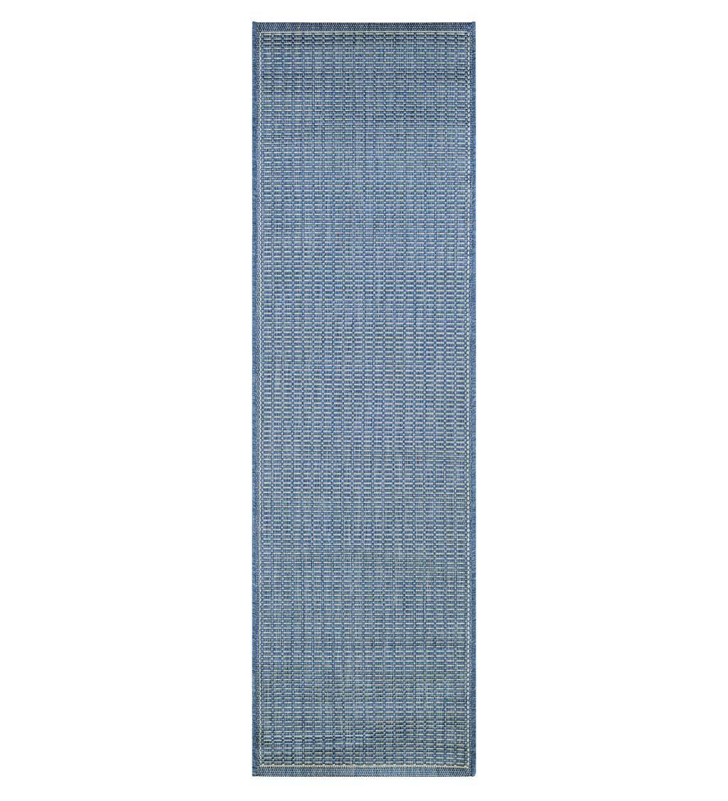 """COURISTAN Veranda Textured Indoor/Outdoor Polypropylene Rug, 2'3"""" x 11'9"""" Runner"""