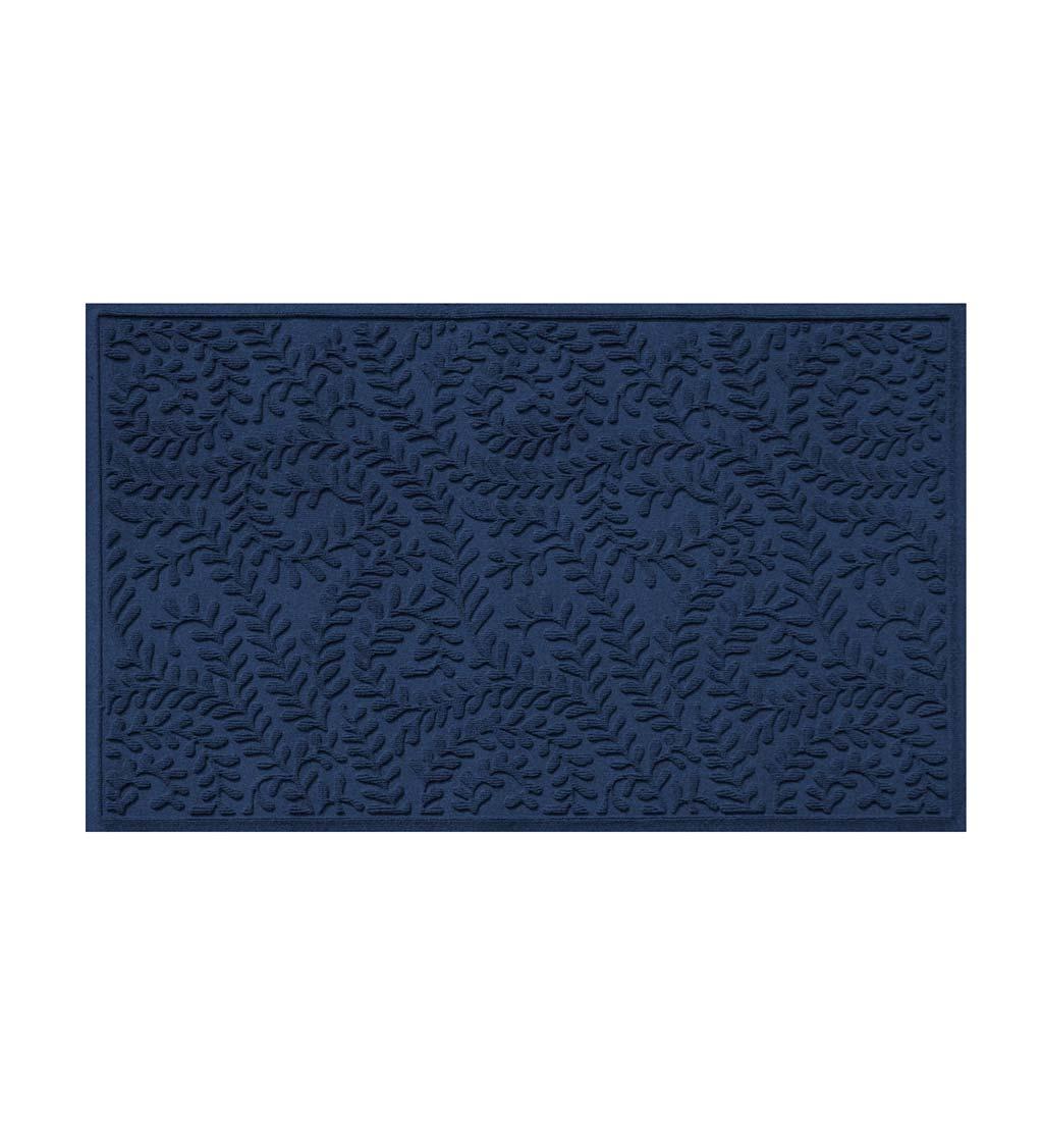 BUNGALOW FLOORING Waterhog Indoor/Outdoor Leaves Doormat, 3' x 5'