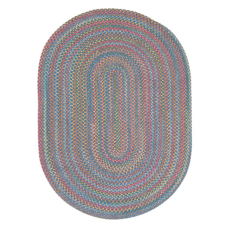 RHODY RUG INC Afton Mountain Indoor/Outdoor Polypropylene Braided Rug, 2' x 3'