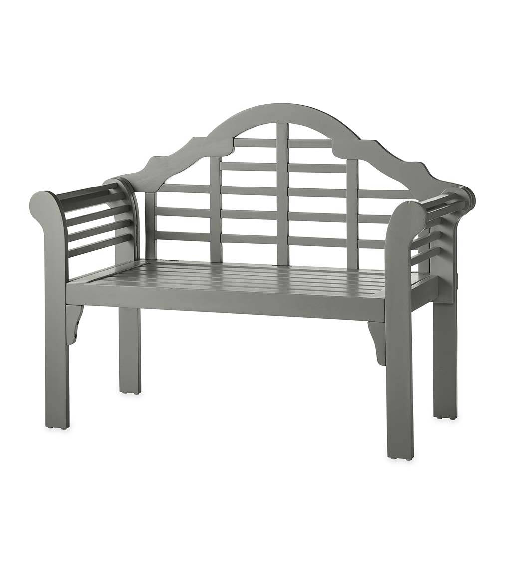 QUANG DUNG PRIVATE ENTP/ CONNOR Lutyen Outdoor Garden Bench: Built with FSC-Certified Eucalyptus Wood
