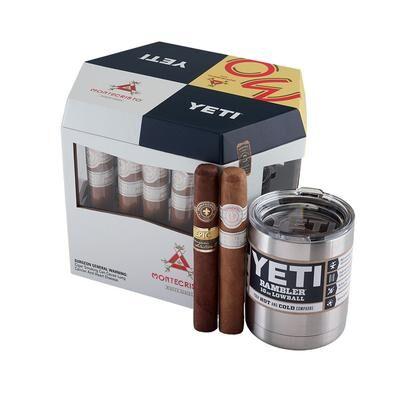 Altadis Accessories and Samplers Montecristo + Yeti 12 Cigar Gift Set