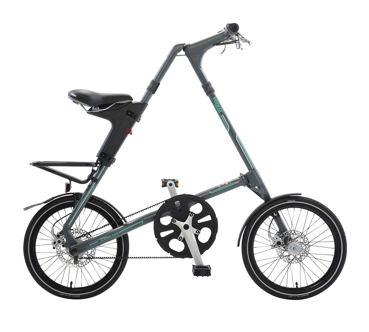 STRiDA SX Folding Bicycle, Grey