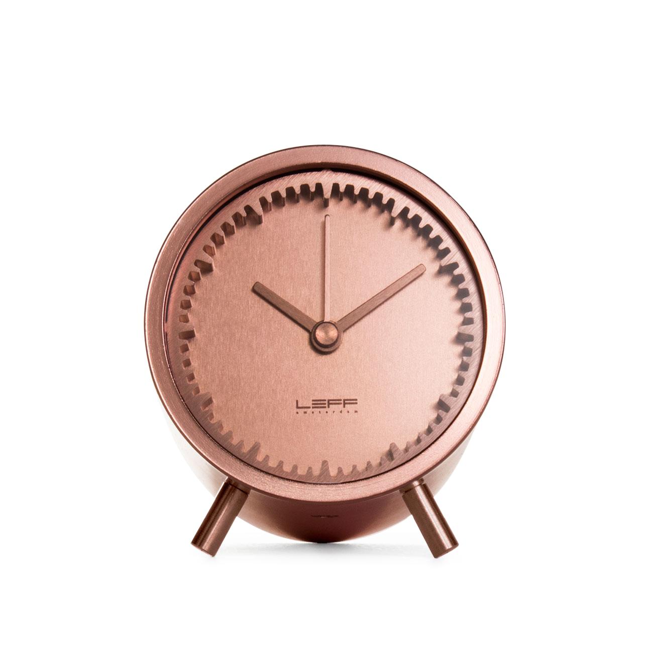 Leff Amsterdam & Piet Hein Eek's Tube Clock, Copper